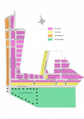 Abhivrudhi SSR Phase I Layout Plan