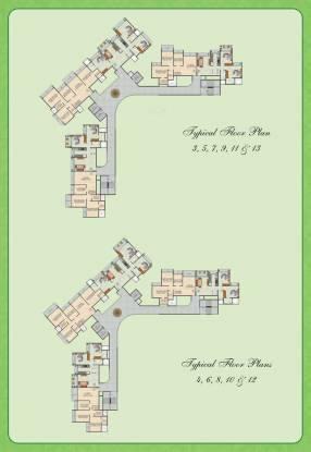 Juhi Greens Cluster Plan