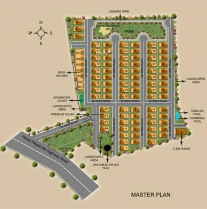 Aswani Springdale Master Plan