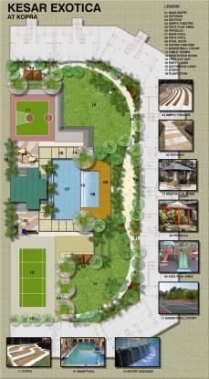 Kesar Exotica Phase I Basement Plus Ground Plus Upper 14 Floors Layout Plan
