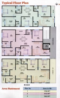 Srinilaya Ark Villa Cluster Plan