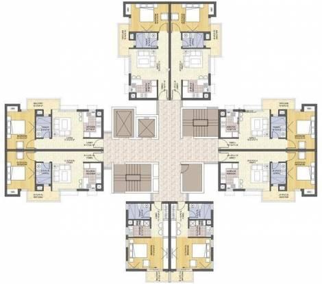 Ansal Sushant Serene Residency Cluster Plan