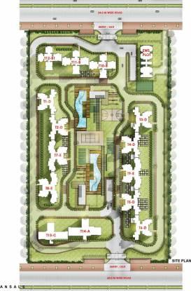 Ansal Sushant Serene Residency Site Plan