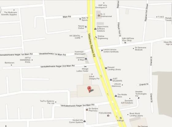 KG Bellaire Location Plan