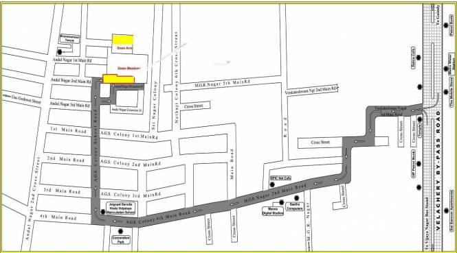 Kishorkumar Green Acre Location Plan