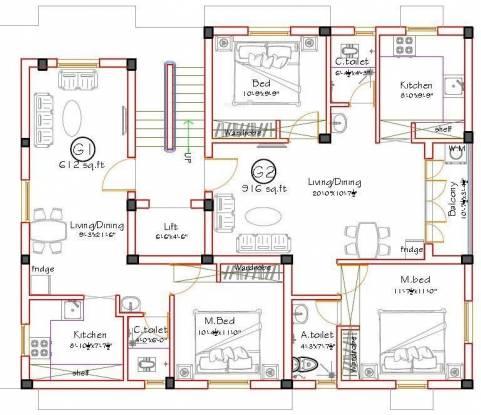 Shrusti Vasantham Cluster Plan