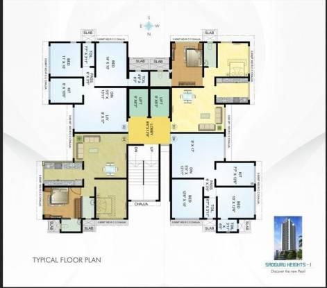 Sadguru Sadguru Heights Cluster Plan
