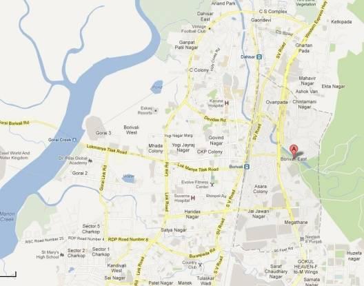 Bhatia Esspee Tower Location Plan