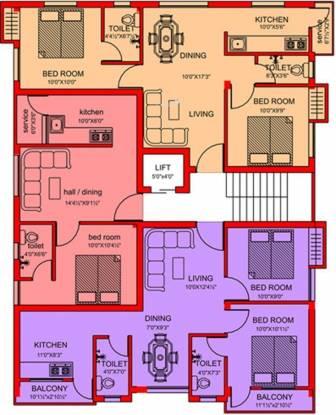 Majestic Kumarakom Cluster Plan