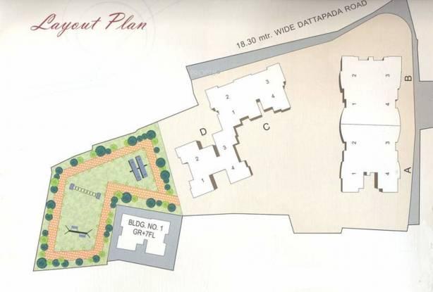 Gurukrupa Raj Hills Master Plan