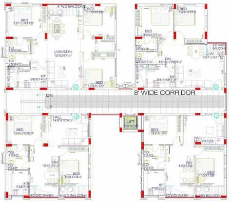 Connoisseur Riviera Cluster Plan
