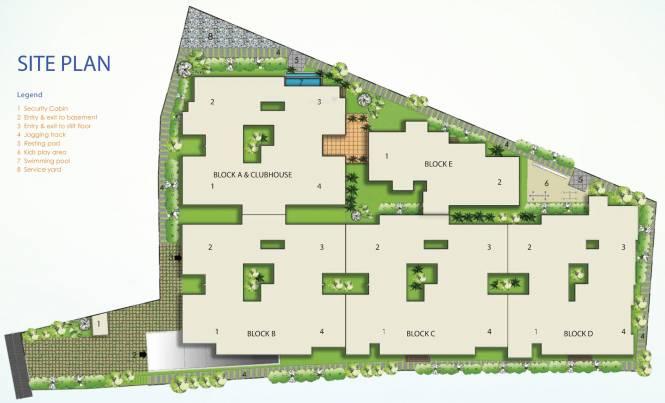 Mythreyi Naimisha Site Plan
