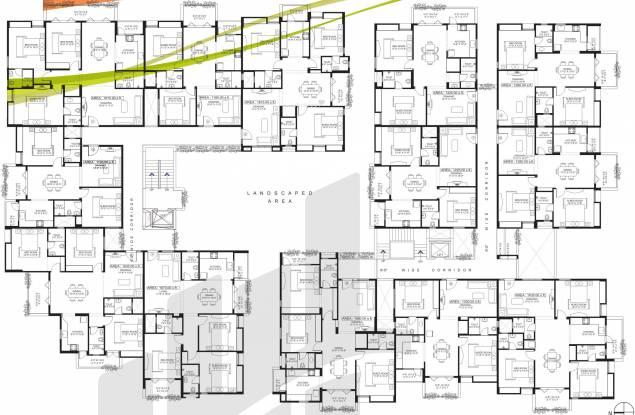 Sandeep Dhruva Apartment Cluster Plan