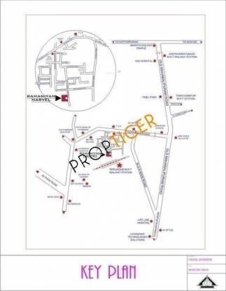 Ramaniyam Marvel Location Plan