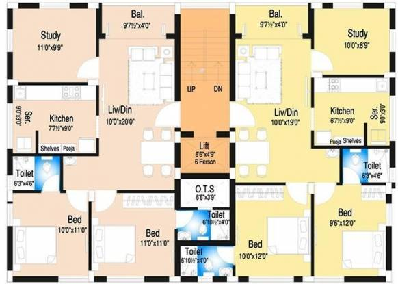 DABC Begonia Cluster Plan