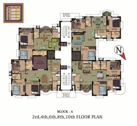 Rajwada Heights Cluster Plan