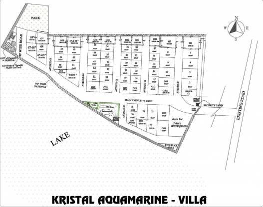 Kristal Aquamarine Site Plan