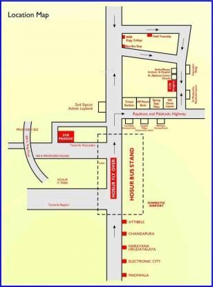 SVR Heights Location Plan
