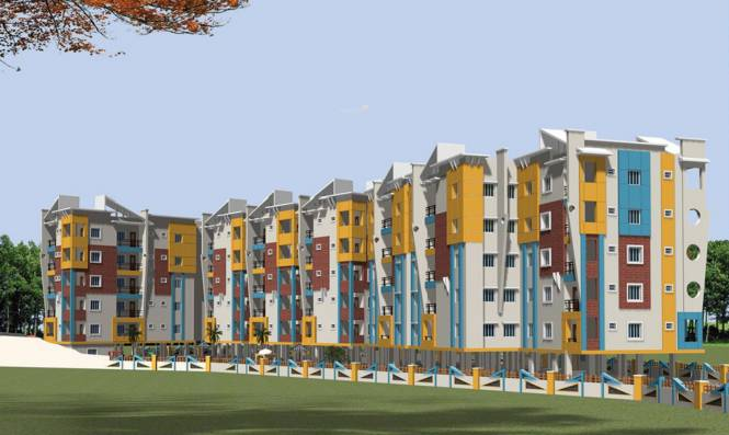 Sai Mitra Meadows Elevation