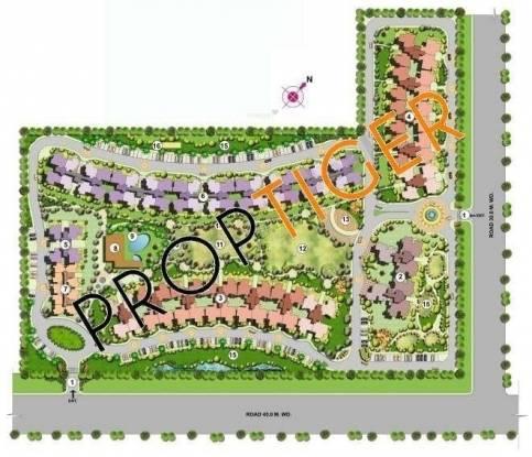 Today Homes Ridge Residency Master Plan