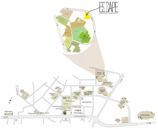 Unitech Escape Location Plan