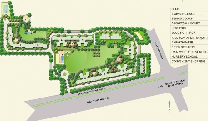 Bestech Park View Spa Next Layout Plan