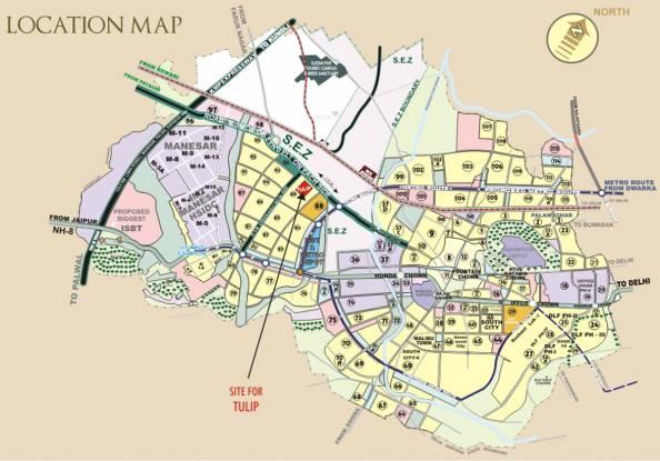 Tulip Ace Location Plan