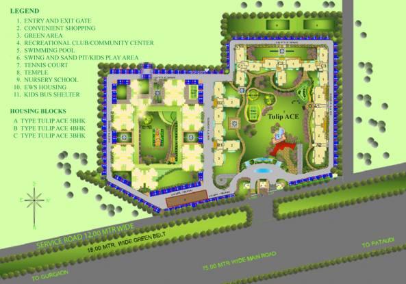 Tulip Ace Site Plan