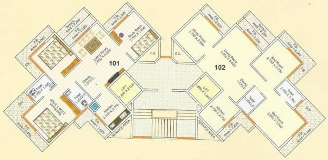 Someshwar Residency Cluster Plan
