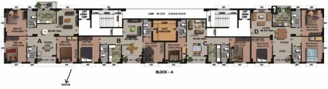 Rajwada Springfield Cluster Plan
