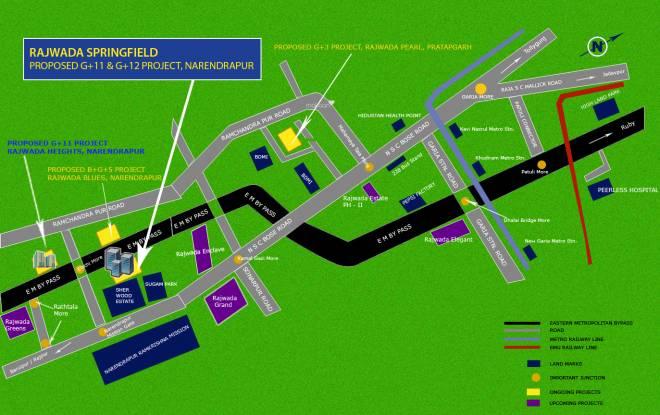 Rajwada Springfield Location Plan