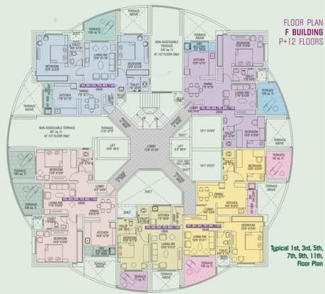 Tejas Poorva Residency Cluster Plan