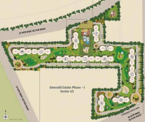 Emaar Emerald Estate Master Plan