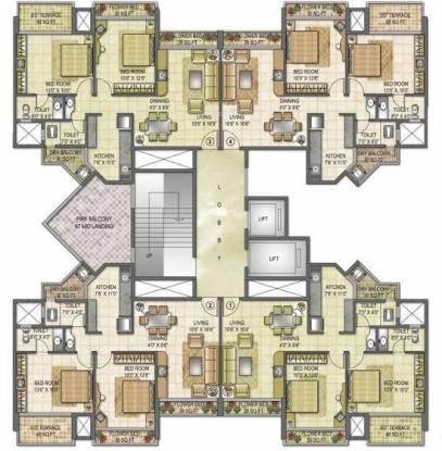 Kesar Symphony Cluster Plan