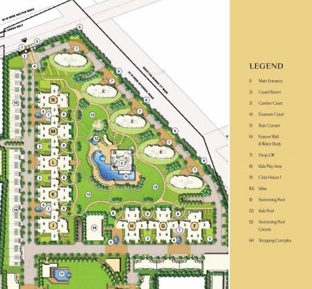 Emaar Palm Drive Layout Plan