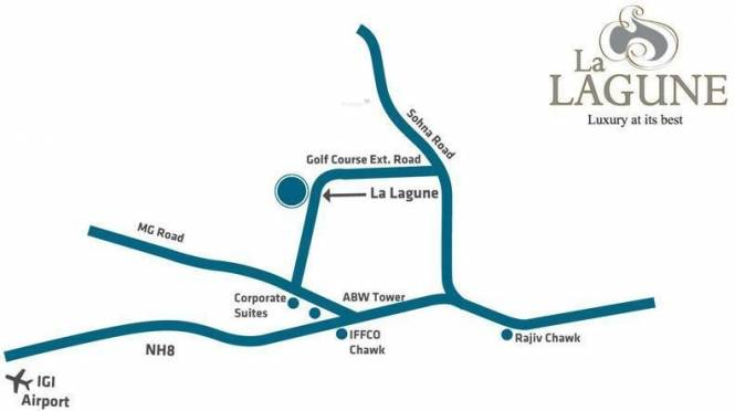 ABW La Lagune Location Plan