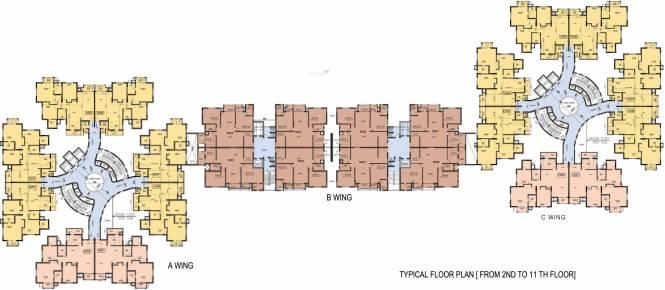 RNS Shanthi Nivas Cluster Plan