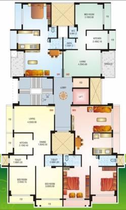 Nisarg Sai Residency Cluster Plan