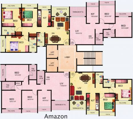 Tharwani Riverdale Cluster Plan