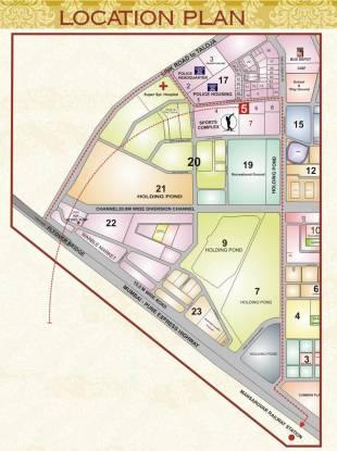 Neelkanth Majestic Location Plan