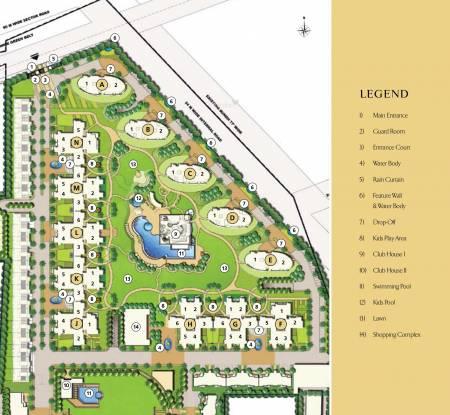 Emaar Sky Terraces Master Plan