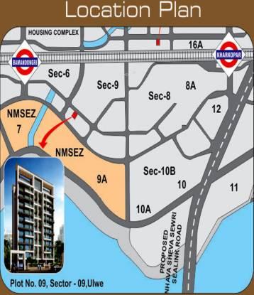 Yash Yash Heights Location Plan