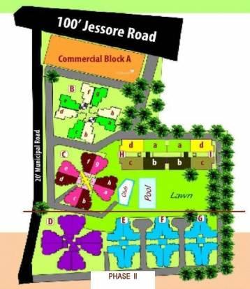 Vibgyor Mira Garden Layout Plan