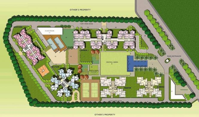 Assotech Windsor Court Phase I and II Site Plan
