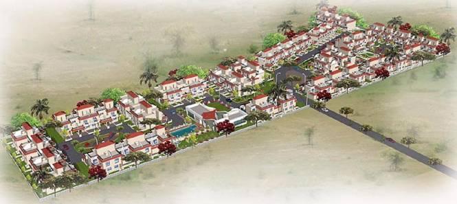 Wadhwani Mayureshwar Sai Nisarg Park Layout Plan