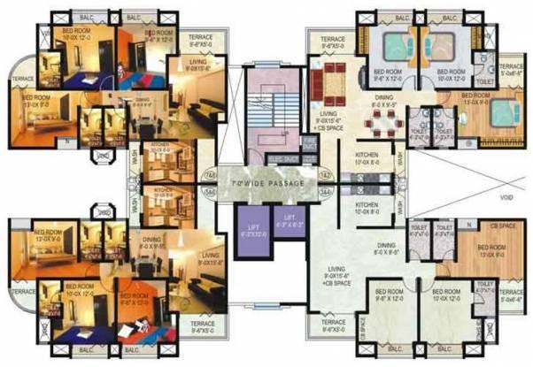 Adhiraj Magnolia Cluster Plan