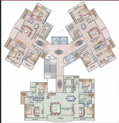 Siddhi Grandeur Cluster Plan