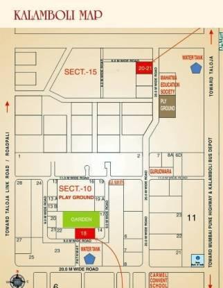 Shree Residency Location Plan