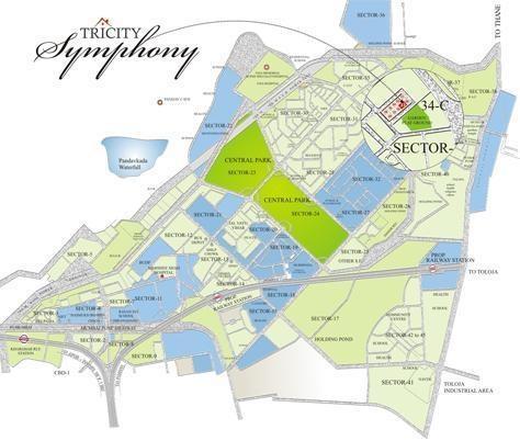 Tricity Symphony Location Plan