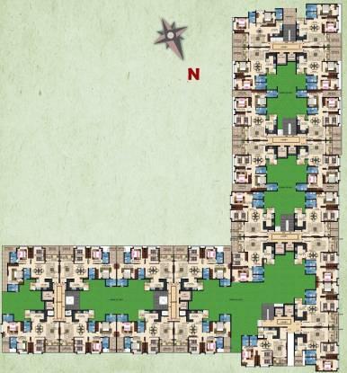 Kolte Patil Raaga Cluster Plan
